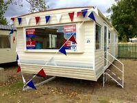 SALE! Static caravan sale in Clacton Essex. Not Kent Suffolk. Beach & pool. BK Calypso