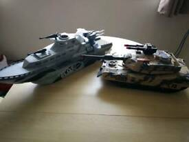 Soldier force tank plus corps elite ship