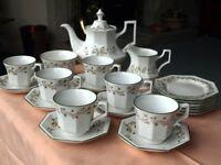 "Johnson Brothers ""Eternal Beau"" 21 piece tea set."