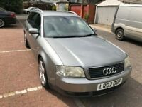 2002 Audi A6 AVANT 2.5 TDI SE 5dr (CVT) 2.5L Automatic @07445775115 6 Months Warranty Included