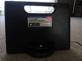 Sony iPod/iPhone Speaker Dock