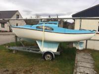 Hurley 27' Sail boat
