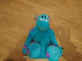 Monsters Inc sully talking toy