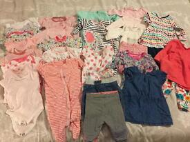 Baby girl bundle (up to 3 months)
