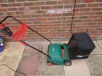 qualcast 400w electric cylinder lawnmower