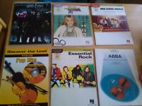Violin music books with cds