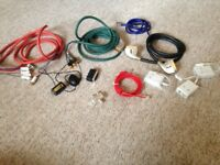 Bundle of leads & adaptors