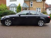 BMW 5 SERIES 2.0 520D SE 4d AUTO 161 BHP PARKING SENSORS ++ SERVICE RECORD AUTOMATIC ++ LEATHER TRIM