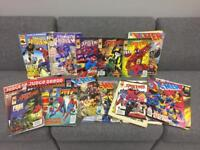 18 x retro vintage 90s Spider-Man Xmen Judge Dread Spiderman marvel comics bundle Joblot. SDHC