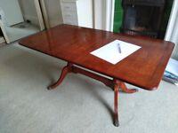 Beautiful light mahogany coffee table