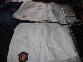 Manchester United Shorts .