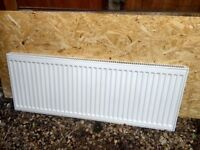 Radiators, white x2