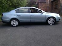 VW PASSAT 2.0 TDI DIESEL 6 SPEED HIGHLINE LOW MILEAGE ONLY 76K 12 MONTHS MOT HEATED LEATHER CRUISE