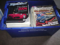 Large collection of Top Gear magazines from 2004 onwards