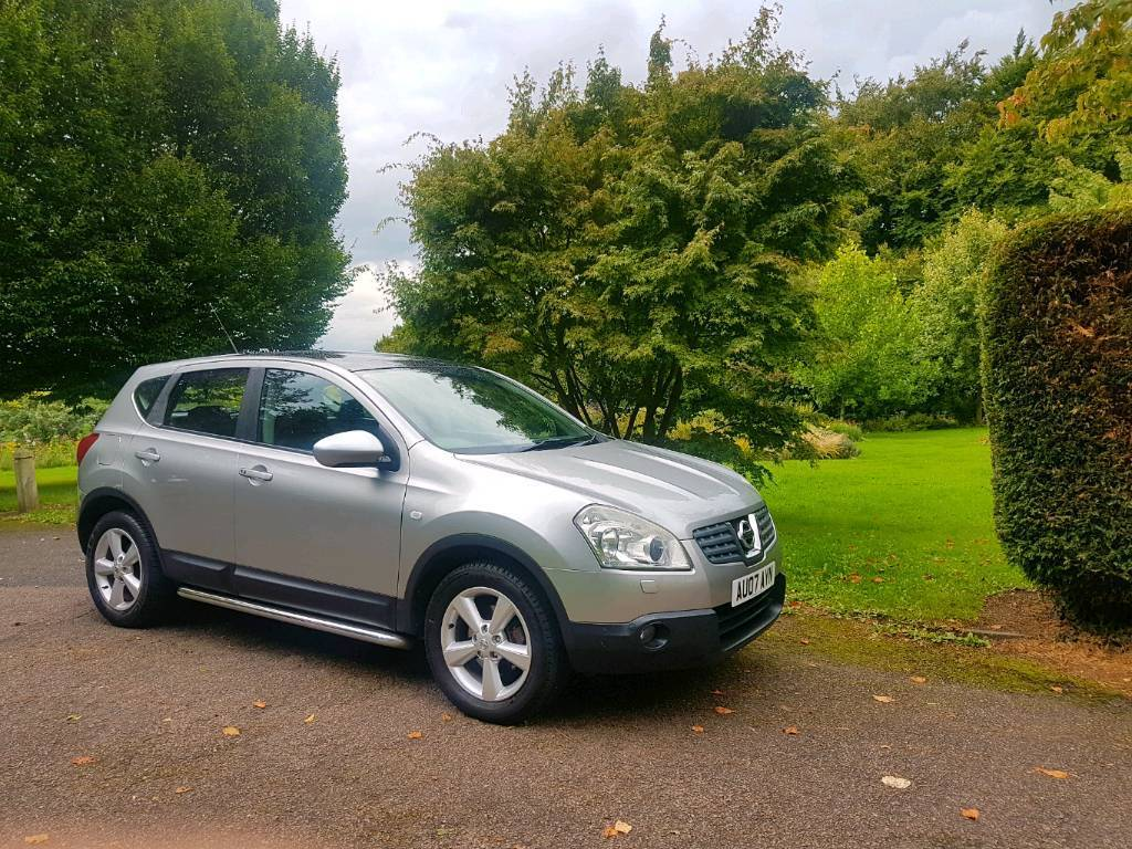 nissan qashqai 2007 tekna model 2 0l petrol 2wd heated leather seats panoramic sunroof in. Black Bedroom Furniture Sets. Home Design Ideas