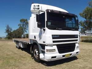 2006 DAF CF85-430 6x4 Traytop/Tabletop Truck.430HP bogie drive Inverell Inverell Area Preview