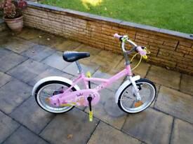 """Immaculate Girls Princess Bike 16"""""""