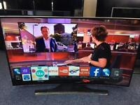 "Samsung 55"" curved 4K UHD ultra HD Smart freeview and freesat tv"
