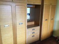 Wardrobe 3 set including dresser