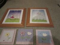felicity wishes and next prints for girls room