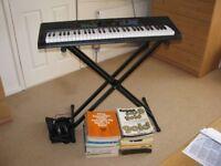 Casio Keyboard Model CTK-3400SK & Music