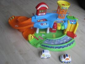 Vtech toot toot driver garage and cars