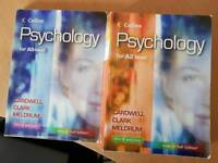Psychology AS & A2 Level books by Cardwell, Clark & Meldrum