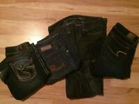 Women's jeans sizes 25, 26 and 2