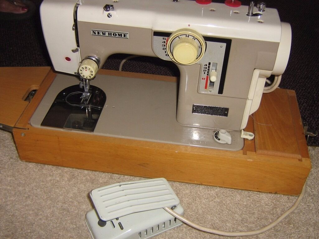 New Home Sewing Machinein Kirkcaldy, FifeGumtree - New home portable sewing machine in perfect working order with button hole foot