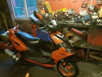 Directbike 125 4storke scooter 64reg moped vition like new no px yz cr ktm honda suzuki