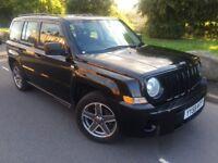 2009 59 Jeep Patriot sport 2.0 Crd 140 bhp 6 speed 4 x4 # full mot # cheap insurance model