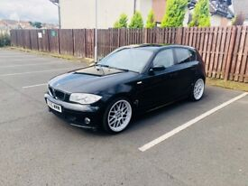 BMW 1 Series Black ,2005 ,DIESEL ,1995 cc