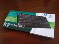 Logitech K300 Multimedia Keyboard UK Layout