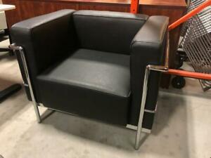 Lounge Seat with Chrome Frame - $125.00