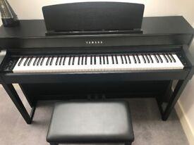 MINT CONDITION PIANO Yamaha PDI YAM CLP545B