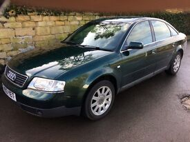 2.8 V6 auto/tip,low miles,full leather,fsh Audi A6.p x to clear,long mot,not Vauxall,ford,BMW,honda