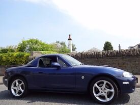 12 MONTH WARRANTY! (03) MAZDA MX-5 1.8 S-VT SPORT Heated Leather - Hard Top - Very Low Mileage - FSH