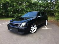 Subaru Impreza WRX Prodrive To Full STi Spec - Custom Prepared And Built From Ground Up