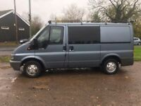2004 54 FORD TRANSIT 2.0 TDCI T280 SWB EXEC AIR PACK HEATED ELECTRIC MIRRORS TOW BAR BLUE PX SWAPS