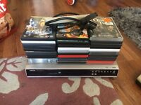 Toshiba dvd player with dvds
