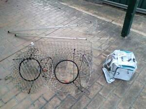 Crab pots, scoops & Tackle bag Singleton Singleton Area Preview