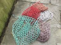 Haylage nets large size with small holes x 5