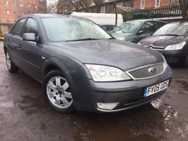 05 plate - ford Mondeo - 6 speed - one year mot - new water pump - alloy wheel