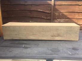 Solid oak beam