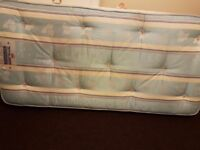 Perfect condition Single bed and mattress £40