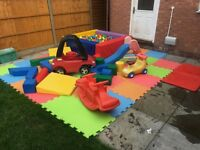 Soft Play Hire - £85 a Day! - CJ Entertainment Hire