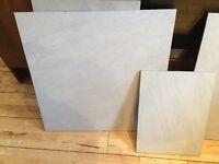 14 boxes of Large Grey Graniser Seramik St Moritz Bianco Floor Tiles