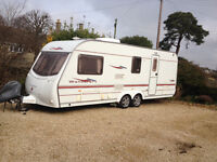 Coachman 4 Berth Wanderer 19/4, 2005 twin axle, air con, truma motor mover, loads of extras incl