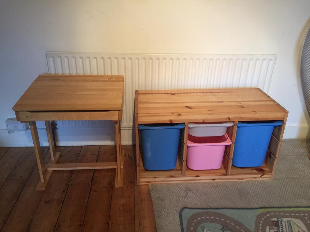 Trofast Storage And Kids Desk In Croydon London Gumtree