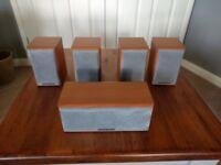 MORDAUNT SHORT 5.1 SURROUND SOUND HOME CINEMA SPEAKER SYSTEM
